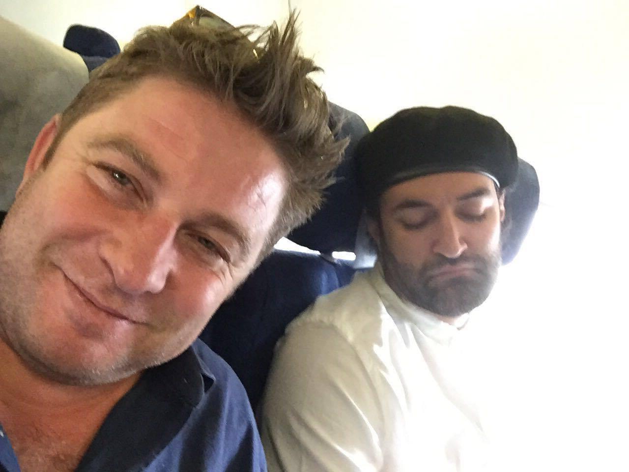 poza in avion spre Bucuresti